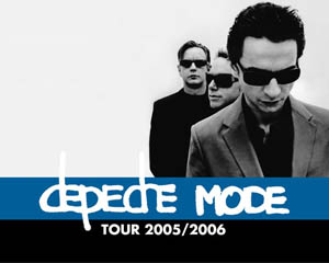 Depeche Mode Layout