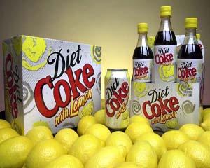 Diet Coke with Lemon Layout