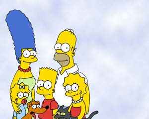 The Simpsons 2 Layout
