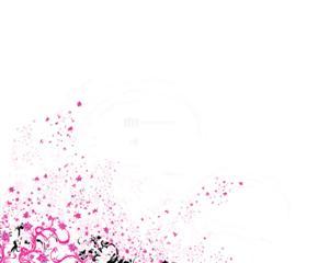Pink Splatter Layout