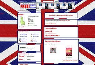 British Flag Layout