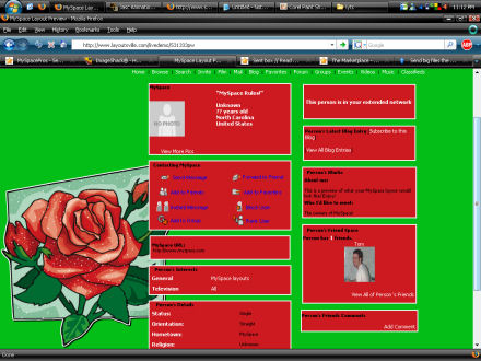 Roses Layout