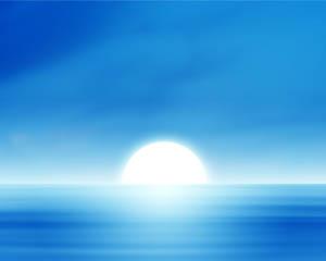 Oceans blue Layout