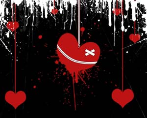Broken Heart Layout