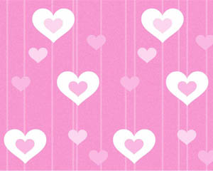Pink Hearts Layout