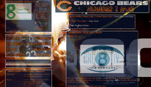 Chicago Bears Layout