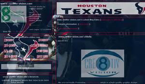 Houston Texans Layout