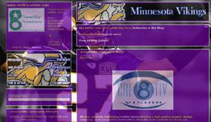 Minnesota Vikings Layout