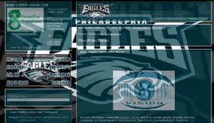 Philadelphia Eagles Layout