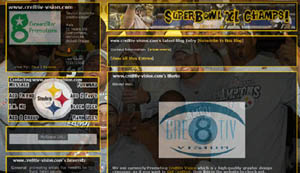 Pittsburgh Steelers Layout