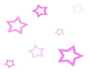 Pink Scattered Stars Layout