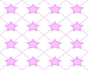 Star Fence Pink Layout