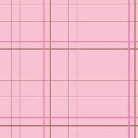 Pink Criss Cross Stripes Layout