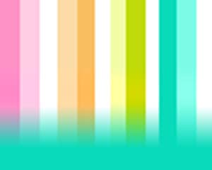 Rainbow Color Stripes Layout